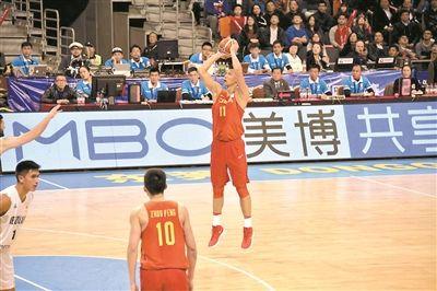 男篮世界杯亚洲区预选赛 中国蓝队不敌新西兰