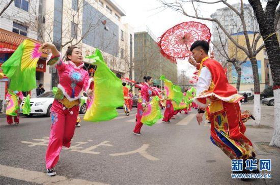 (新春走基层)(1)陕西延安:民俗汇演贺新春