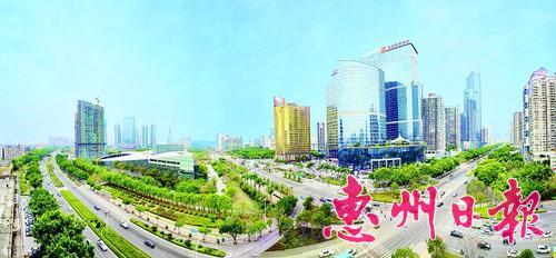 ▲2018年2月拍摄的市区江北。