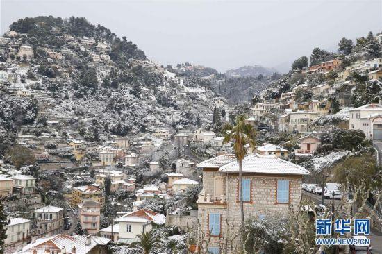 (国际)(1)法国遭遇极寒天气