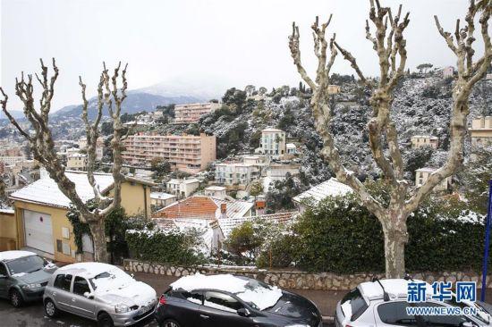 (国际)(2)法国遭遇极寒天气