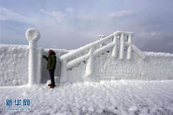 (国际)(1)寒流席卷克罗地亚