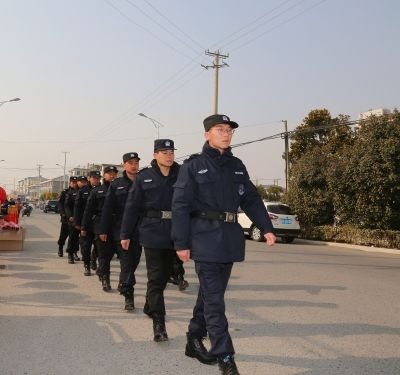 南通海安水乡墩头在全县率先组建特勤队