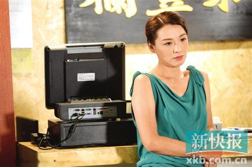 TVB新剧《果栏中的江湖大嫂》 陈炜变身果栏大嫂