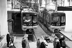 6号线西延年底先通4站全线6座车站3座为换乘站