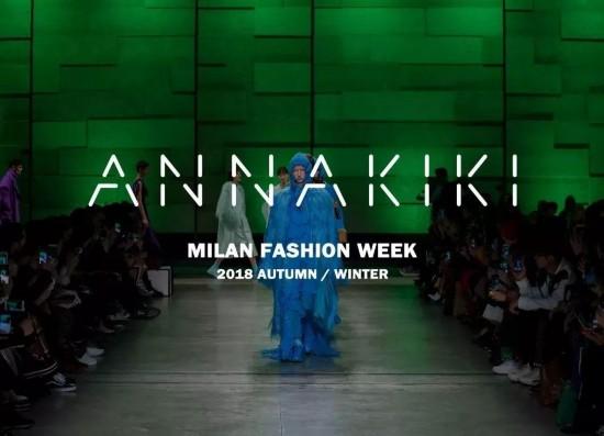 2018秋冬米兰时装周上的中国设计力量