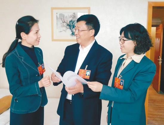 沈阳市全国人大代表精心准备议案建议