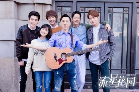 庾澄庆客串新版《流星花园》 弹唱《情非得已》