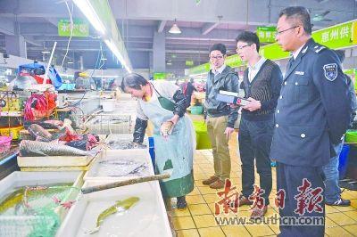 惠州每个县区要建成1条以上食品安全示范街
