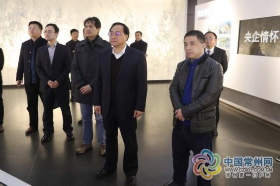 常州钟楼区领导赴上海对接企业 多方寻求合作