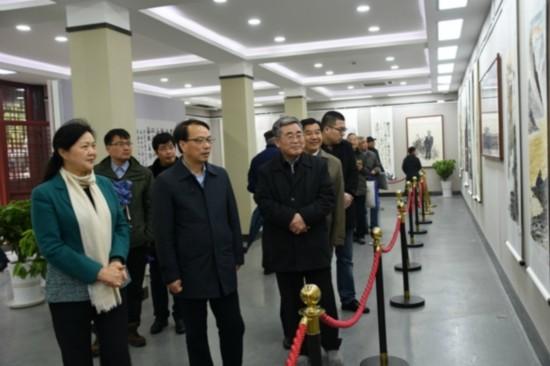 周恩来诞辰120周年文化部书画展在淮安开展