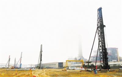 宝钢湛江钢铁原料增建C型矿石料场工程开工