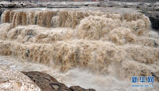 #(环境)(1)黄河壶口瀑布水量增大