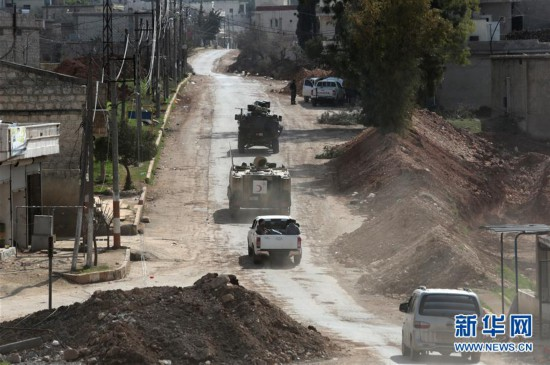 (国际)(1)土耳其称已在阿夫林打死和俘获3000多名敌对武装人员