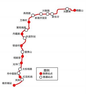 国家文物局同意南京6号线总方案 18个站点敲定