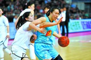 北京首钢男女篮双线飘红