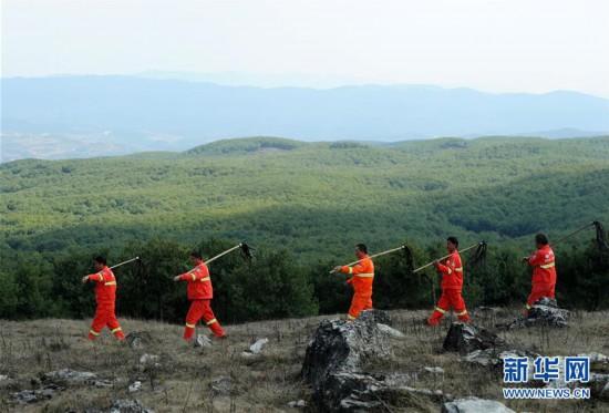 """(图文互动)(1)贵州沙子坡林场:三代护林员守护一片""""林海"""""""