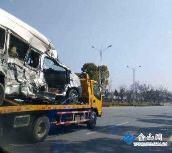 江苏句容发生重大交通事故 2人死亡3人重伤