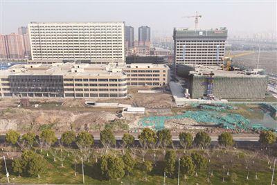 南通海门市人民医院新院主体结构完工