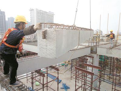 """采用装配式施工工艺19层""""积木高楼""""拔地起"""