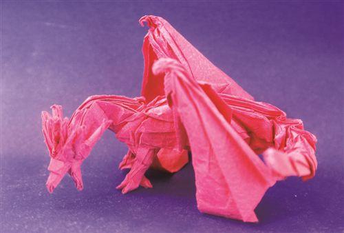 徐州12岁男孩痴迷折纸 16件作品在清华展出