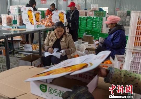 农村淘宝年销售超千亿电商扶贫助力乡村振兴