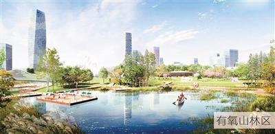 沙坪坝中央公园明年底完工 建示范性生态公园