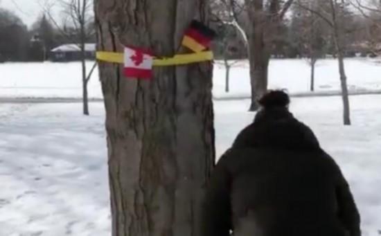 """糗大了!加拿大挂德国国旗""""迎接""""比利时国王夫妇亿库课件网"""
