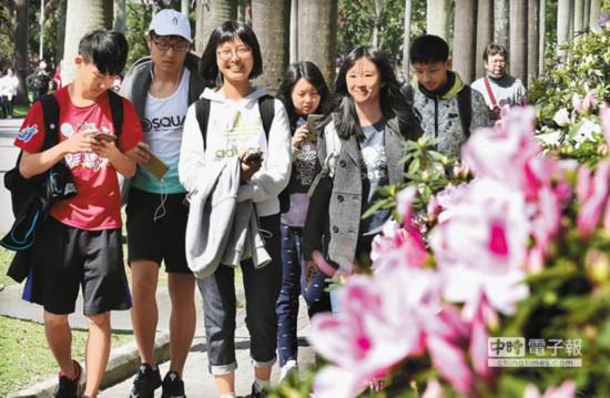 """杜鹃花开梦想盛开――2018台湾大学""""杜鹃花节""""起跑"""