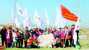淮安社会团体机关企事业单位开展义务植树