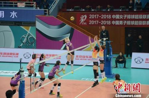 女排联赛决赛燃战火:津沪各据优势 金软景PK李
