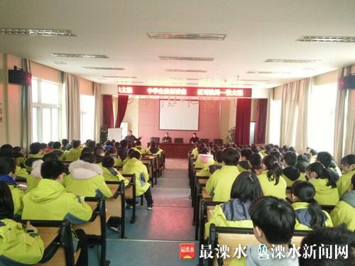 南京溧水民警开展校园普法宣传 学生受益匪浅