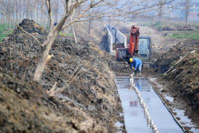 南通海安修建农田灌溉设施 打通生命线保增收