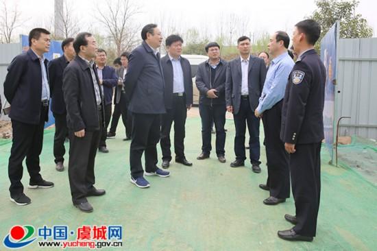 吴祖明到虞城督导调研经济运行工作