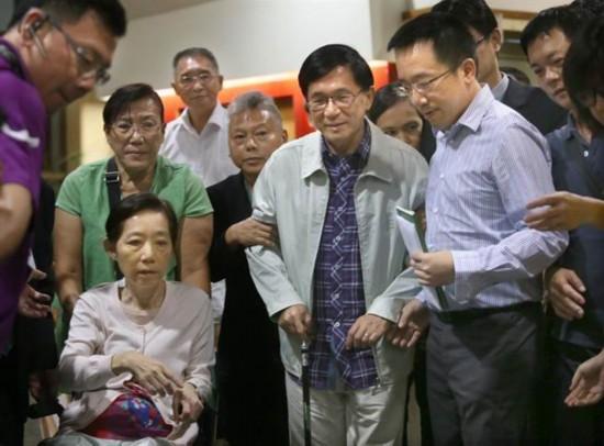 陈水扁获准为儿子陈致中造势晚会站台台网友骂翻