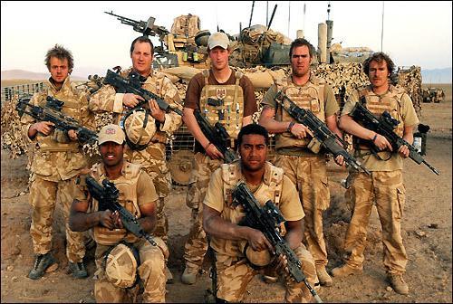 哈里王子服役生活曝光在阿富汗时险被地雷炸死