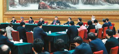 人民领袖:习近平六下团组金句
