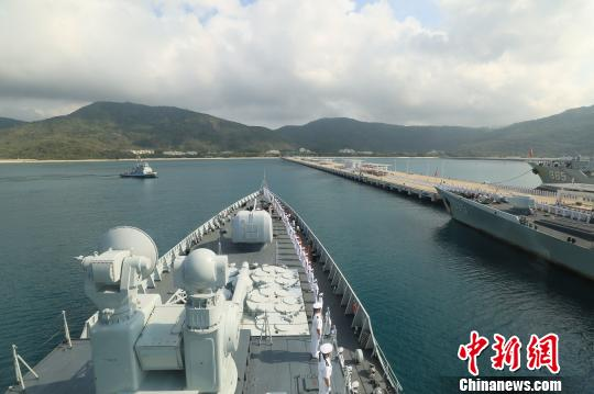 中国海军第二十七批护航编队凯旋