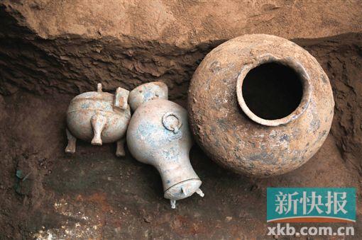 陕西考古发现2000多年前秦国古酒