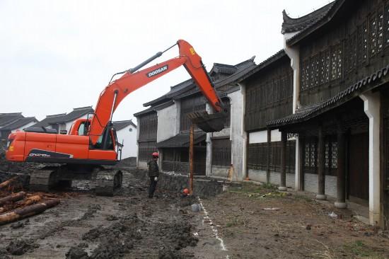 盐城盐都东晋古城建设进入冲刺阶段 占地945亩