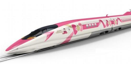 日本JR今夏将推出HelloKitty粉嫩主题新干线