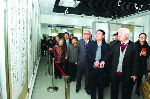 纪念周恩来诞辰120周年 吴承恩书画艺术馆开展