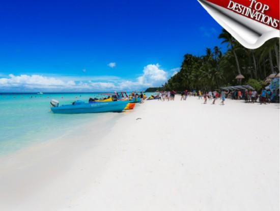 """菲律宾长滩岛将封岛修复 曾被杜特尔特批为""""化粪池"""""""