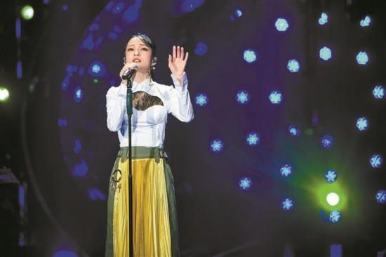 《歌手》:张韶涵演唱汪峰作品