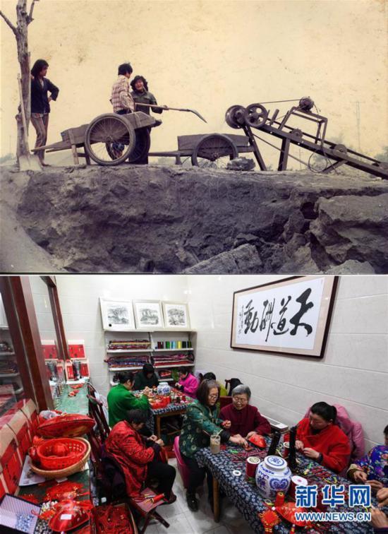 """江蘇馬庄:在""""綠色""""中發展 採煤老村的蝶變記"""