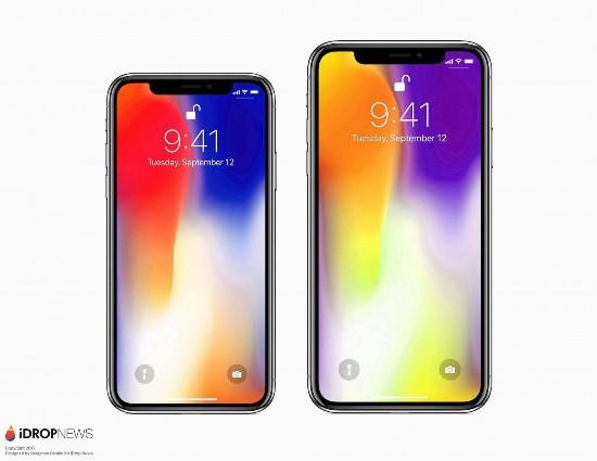 出货量大增新iPhoneX/XPlus/廉价版X齐曝光