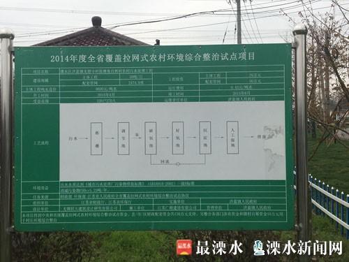 今年底南京溧水50个村生活污水处理设施全覆盖