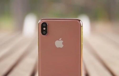 3.27发布腮红金iPhone X太假了!你觉得呢