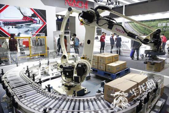探访汽车技术展:四大机器人巨头首次齐聚重庆