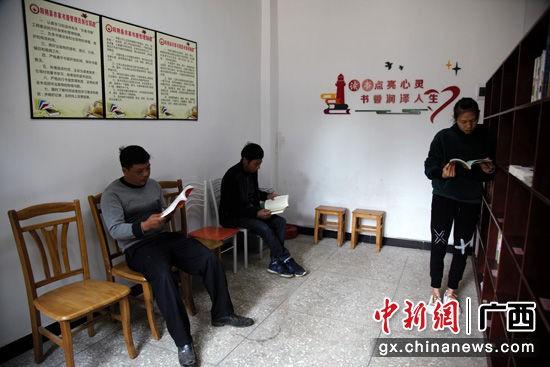 勇村村民喜歡的農家書屋。劉柏攸 攝